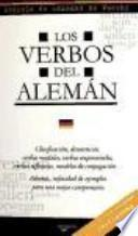 Los verbos del alemán