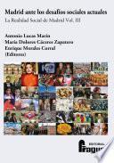 Madrid ante los desafíos sociales actuales