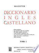 Magister, diccionario inglés castellano