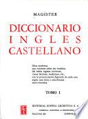 Magister: Diccionario ingles castellano