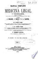 Manual completo de medicina legal y toxicologia