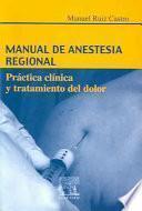 Manual De Anestesia Regional