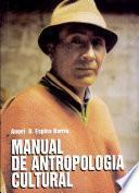 Manual de antropología cultural