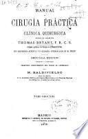 Manual de cirugía práctica y clínica quirúrgica