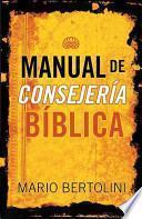 Manual de Consejeria Biblica