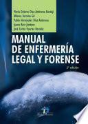 Manual de enfermería legal y forense