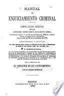 Manual de enjuiciamiento criminal