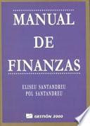 Manual de finanzas