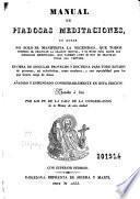 Manual de piadosas meditaciones