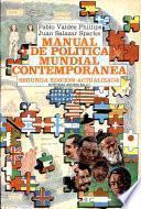 Manual de política mundial contemporánea