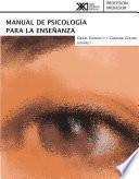 Manual de psicología para la enseñanza