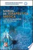 MANUAL DE TERAPEUTICA MEDICA