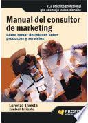 Manual del consultor de marketing