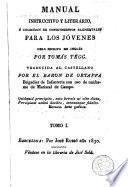Manual instructivo y literario, ó, Colección de conocimientos elementales para los jóvenes, 1