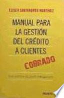 Manual para la gestión del crédito a clientes