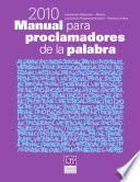 Manual Para Proclamadores De La Palabra 2010