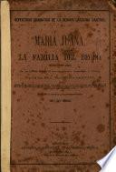 Maria Juana ó la familia del beodo
