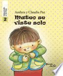 Mateo se viste solo - Educando a mi hijo 2