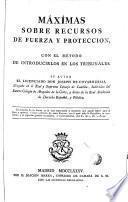 Máximas sobre recursos de fuerza y proteccion