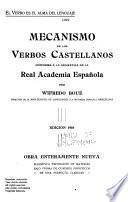 Mecanismo de los verbos castellanos