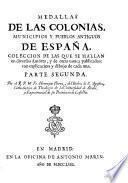 Medallas de las colonias, municipios y pueblos antiguos de España, 2