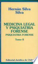 Medicina Legal y Psiquiatría Forense