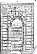 Medidas del Romano, o Vitruuio nueuamente impressas y añadidas muchas pieças & figuras muy necessarias a los officiales que quieren seguir las formaciones de las basas, columnas, capiteles y otras pieças de los edificios antiguos