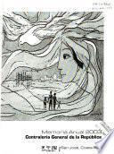 Memoria anual - Contraloría General de la República