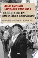 Memoria de un socialista indignado
