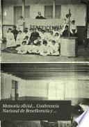 Memoria oficial ... Conferencia nacional de beneficencia y corrección de la Isla de Cuba