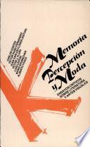 Memoria, Percepción Y Moda