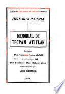 Memorial de Tecpam-Atitlán