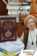 Memorias de Arión Patrio