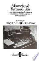 Memorias de Bernardo Vega