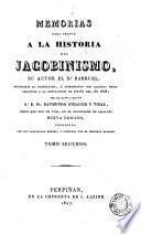 Memorias para servir a la historia del jacobinismo