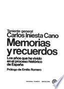 Memorias y recuerdos