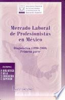Mercado laboral de profesionistas en México: Diagnóstico, 1990-2000