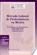 Mercado laboral de profesionistas en México: Escenarios de prospectiva 2000-2006-2010