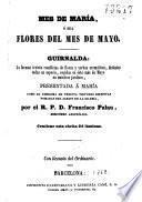 Mes de María, o sea Flores del mes de mayo