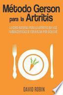Método Gerson para la Artritis