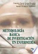 Metodología básica de investigación en enfermería
