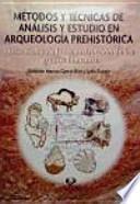 Métodos y técnicas de análisis y estudio en arqueología prehistórica