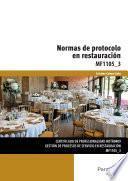 MF1105_3 - Normas de protocolo en restauración