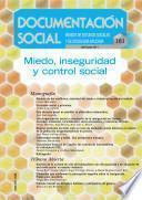 Miedo, inseguridad y control social