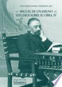 Miguel de Unamuno, estudios sobre su obra