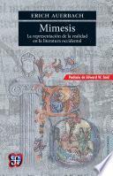 Mimesis La representación de la realidad en la literatura occidental