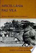 Miscel·lània Pau Vila