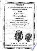 Mission evangelica al Reyno de Congo por la serafica religion de los Capuchinos ... Don Ioseph Pellicer de Tovar ...