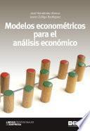 Modelos econométricos para el análisis económico