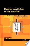 Modelos estadísticos en meta-análisis